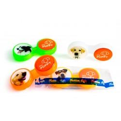Контейнер для контактных линзSC — 212 — B — Puppy